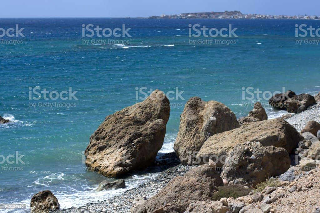 The wonders of the Adriatic Sea stock photo