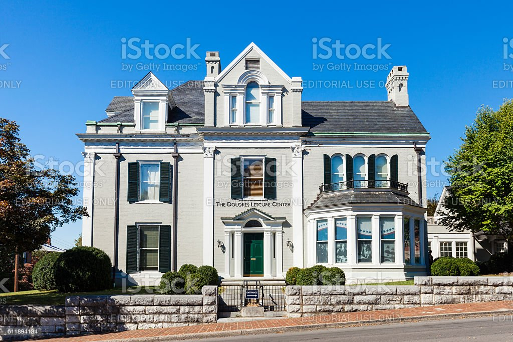 The Woodrow Wilson Presidential Museum And Library In Staunton, Virginia stock photo