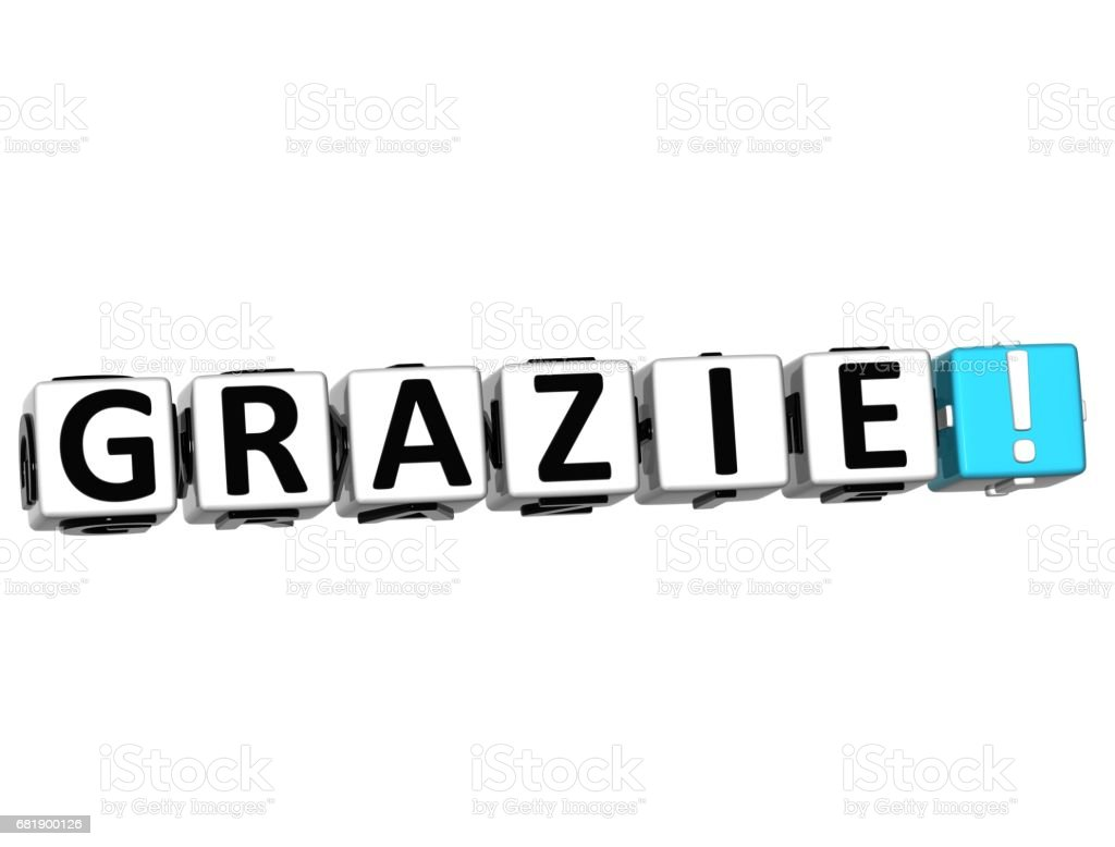 the word grazie thank you in many different languages stock photo rh istockphoto com thank you in many languages free clipart thank you in other languages clipart