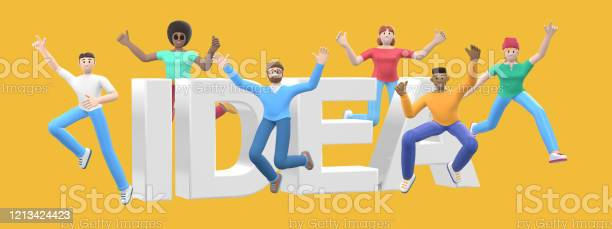 The word idea on a yellow background group of young multicultural picture id1213424423?b=1&k=6&m=1213424423&s=612x612&h=hqjoqcoajhcutmjlgy zh74wrcyqsjqfego4r7ugzpw=
