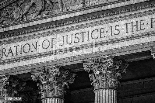 Courthouse, Manhattan, New York City, USA