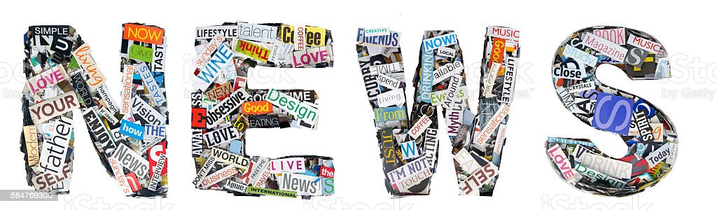 The word news made from random cutout words stock photo more the word news made from random cutout words royalty free stock photo publicscrutiny Choice Image