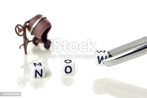 istock the word now with the letter w on its way away 1025550260