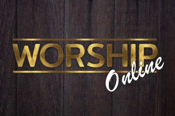 The word worship online concept written in gold texture on wooden picture id1223220039?b=1&k=6&m=1223220039&s=612x612&w=0&h=jvsbpvqruerhq4oceffknk0weajkckqiiciivhselzg=