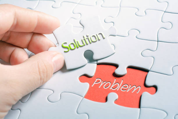 The Words Solution And Problem In Missing Piece Jigsaw Puzzle The Words Solution And Problem In A Missing Piece Jigsaw Puzzle help single word stock pictures, royalty-free photos & images