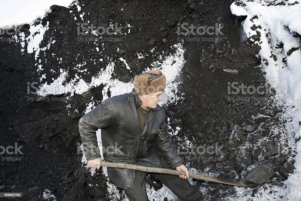 The working man royalty-free stock photo