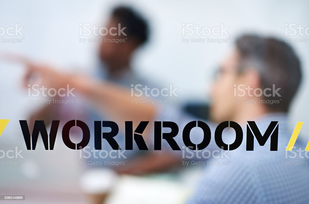 The workroom royalty-free stock photo