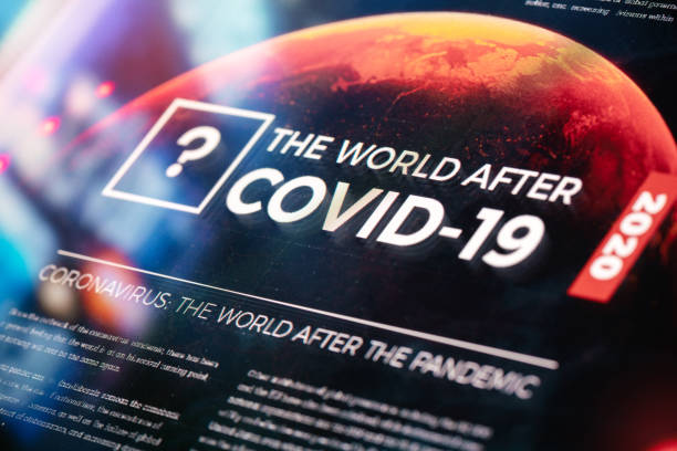 The World After COVID-19 Pandemic stock photo