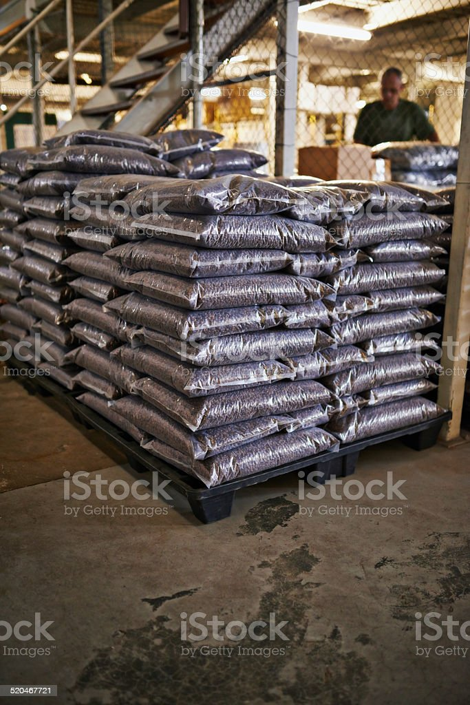 The world demands coffee and we supply stock photo