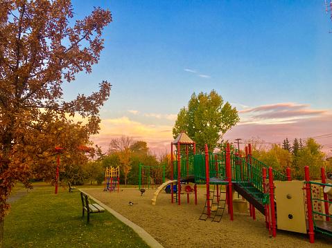 Playground in Calgary