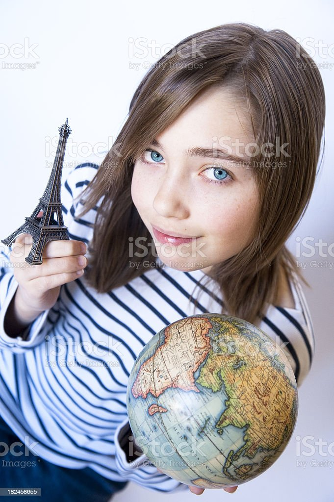 The World Is Mine serie royalty-free stock photo