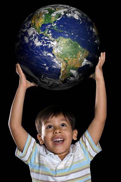 die welt ist mein paradies - 5 kontinente stock-fotos und bilder