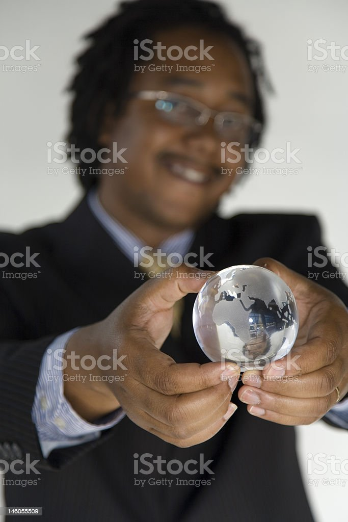 the world is yours. royalty-free stock photo