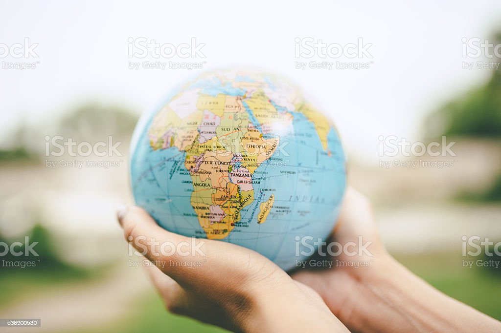 the world is yours stock photo
