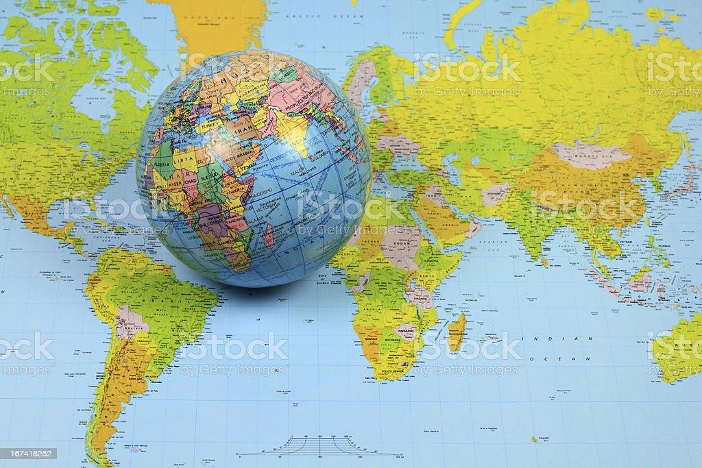 The World. stock photo