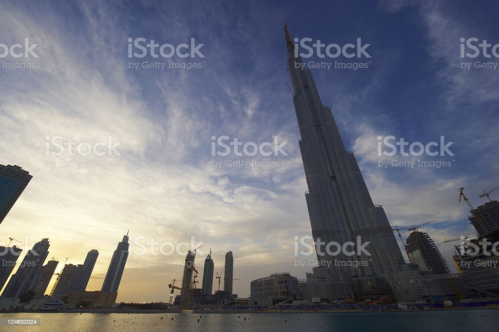 the world tallest building royalty-free stock photo