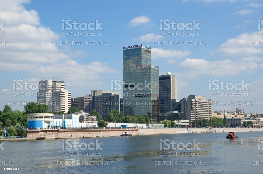 The World trade Center, Moscow, Russia stock photo