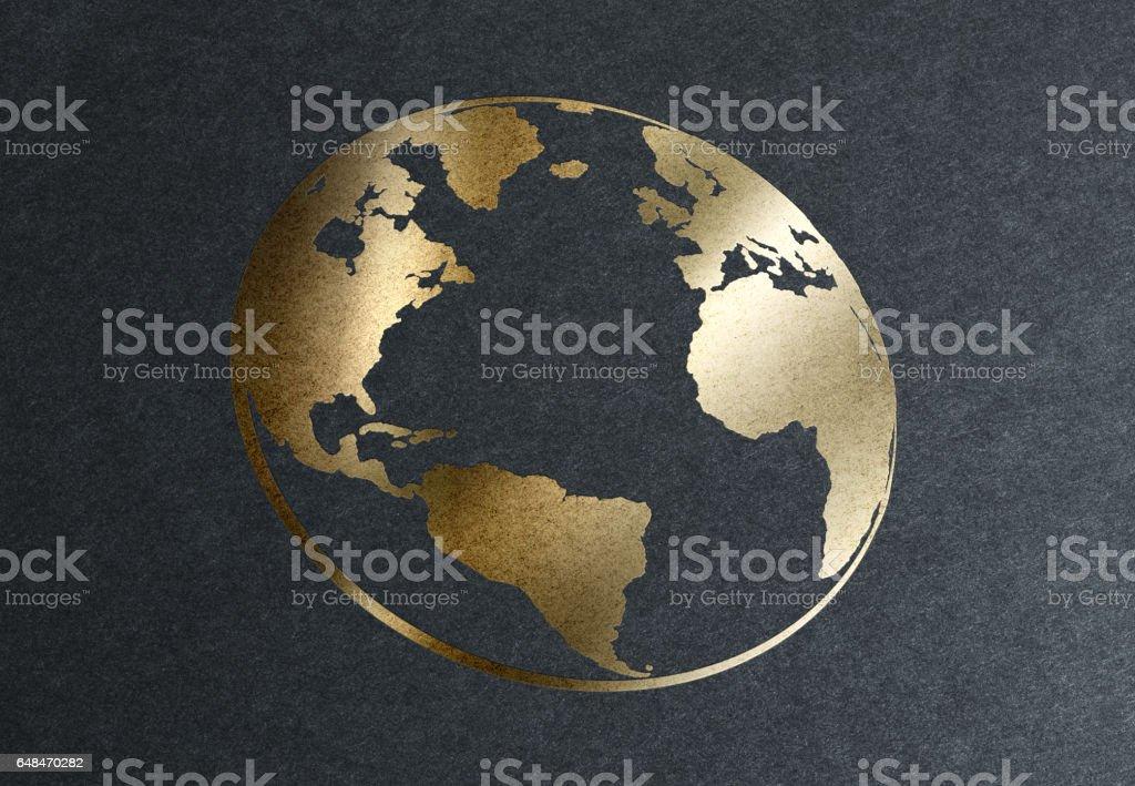 The World's Golden Opportunities stock photo