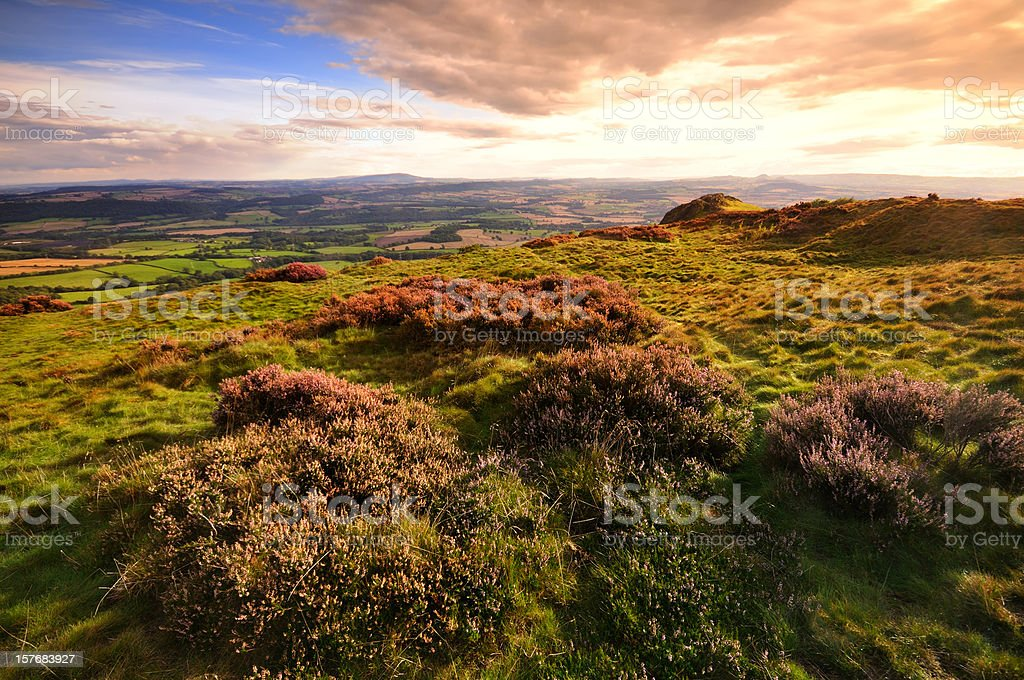 The Wrekin, Shropshire stock photo