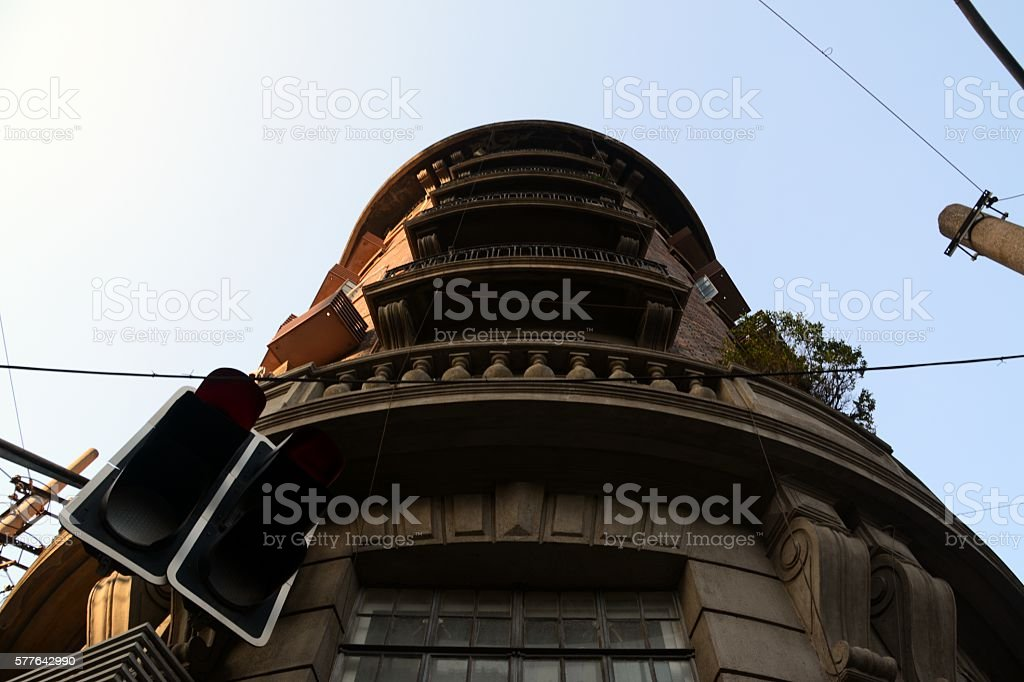 The Wukang Mansion, old French concession of Shanghai, China stock photo