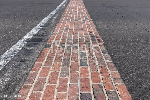 istock The Yard of Bricks at Indianapolis Motor Speedway. IMS is preparing for the Indy 500 and Brickyard 400 in the age of Social Distancing. 1321320848