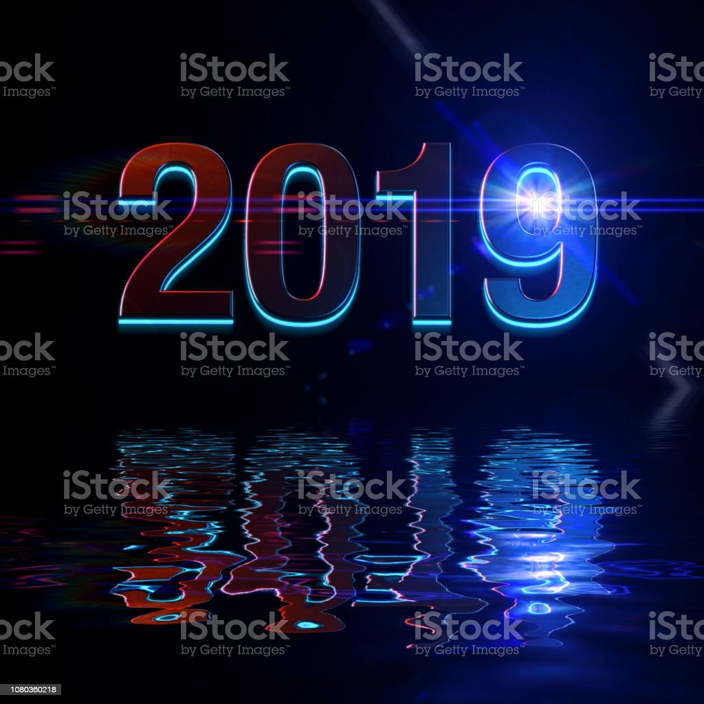 2019 the years - foto stock