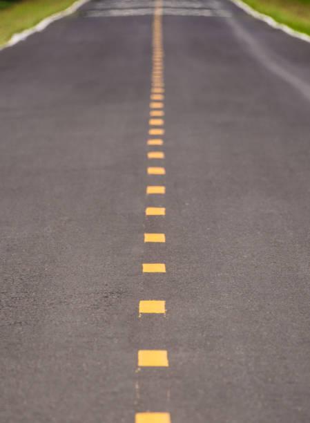 Die gelb gepunktete Linie – Foto