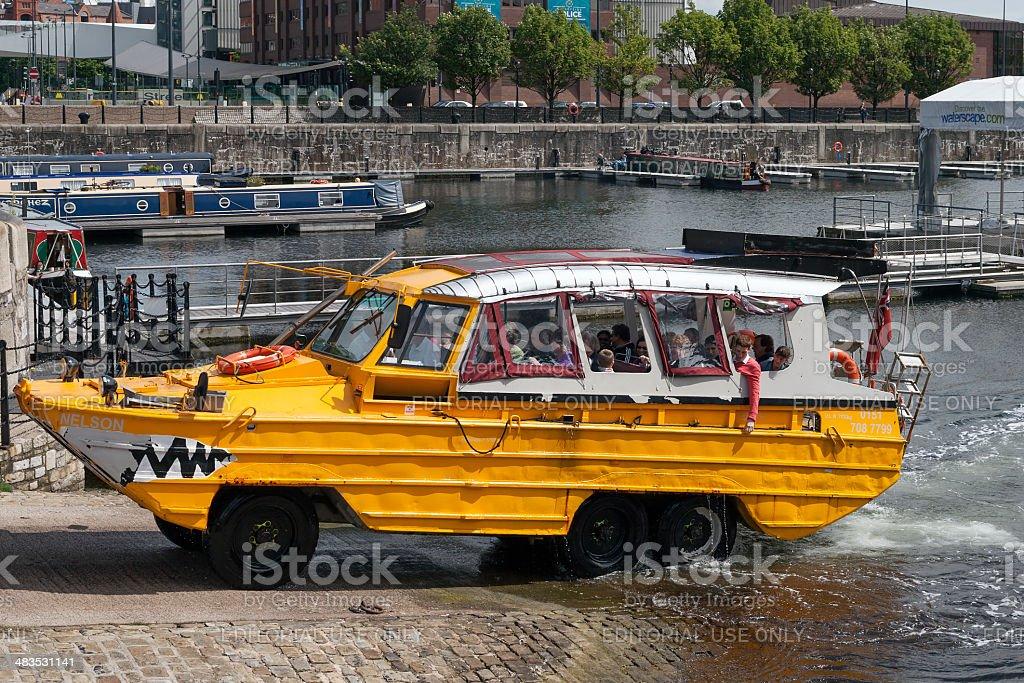 The Yellow Duck-marine stock photo