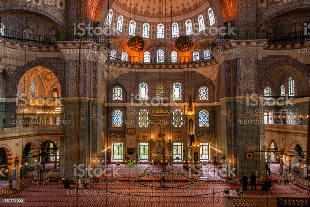 The Yeni Mosque Is An Ottoman Mosque In The Eminonu District Of