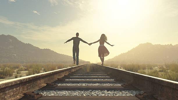 Das junge Paar – Foto