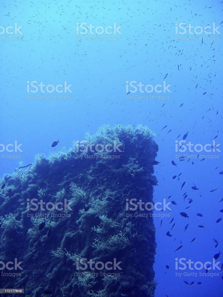 the Zenobia wreck  - Cyprus stock photo