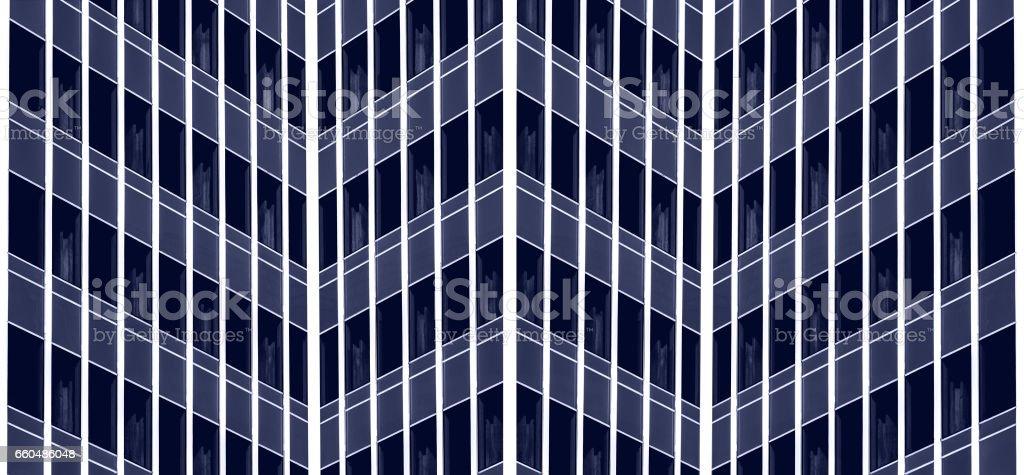 the zigzag architecture stock photo
