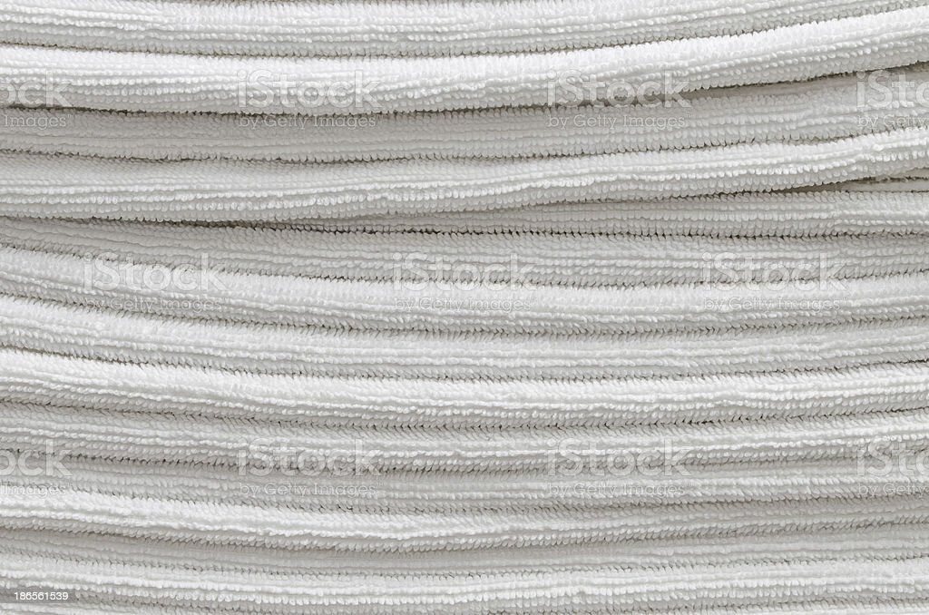 The zigzag towels disorder royalty-free stock photo