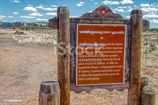 The Zuni Reservation is in New Mexico on the Arizona Border