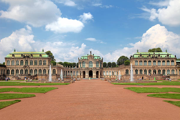 The Zwinger, Dresden, Germany The famous Zwinger in Dresden, Germany. IF YOU NEED A LARGER FILE from that pic, please contact me via sitemail. Need more: zwanger stock pictures, royalty-free photos & images