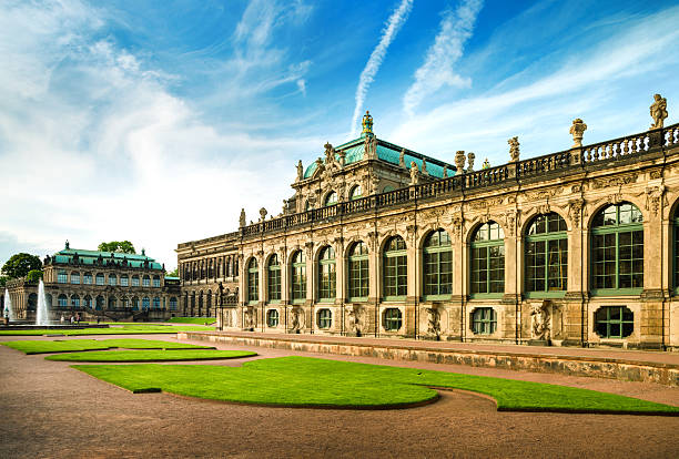 "The Zwinger, Dresden, Germany ""The famous Zwinger in Dresden, Germany"" zwanger stock pictures, royalty-free photos & images"
