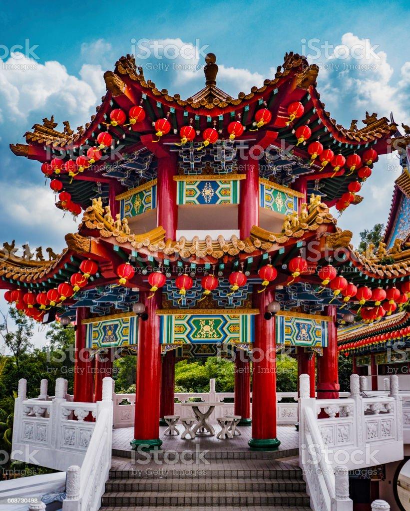 Thean Hou temple Kuala Lumpur Malaysia stock photo