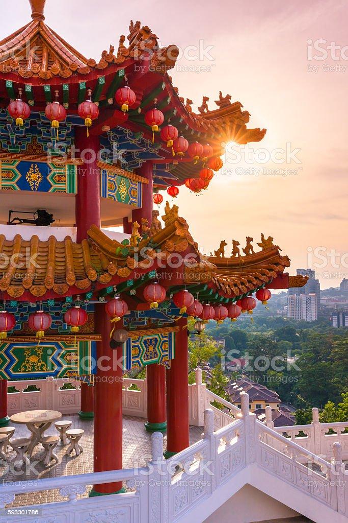 Thean Hou Temple, Kuala Lumpur stock photo