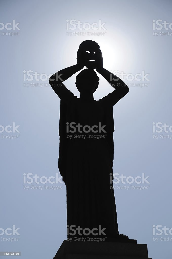 Theater  Allegory royalty-free stock photo