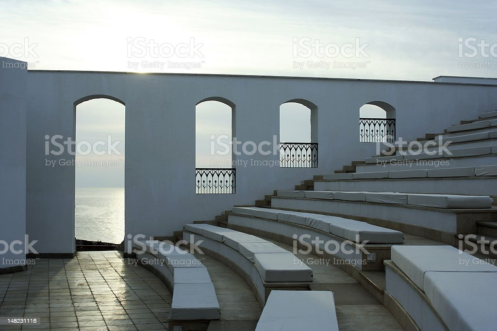 Theater at Sea royalty-free stock photo