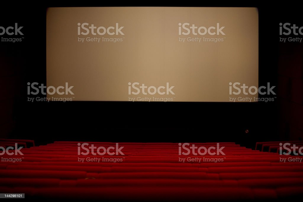Theater Box stock photo