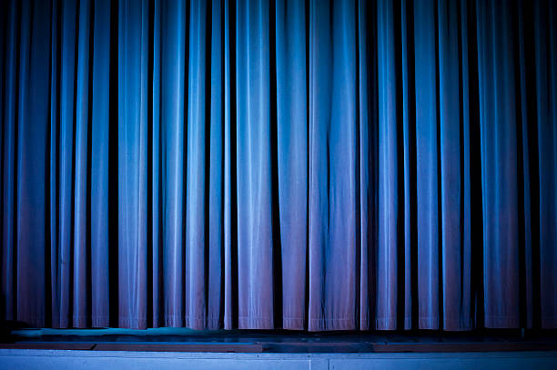 theater curtain background - burlesque stock photos and pictures