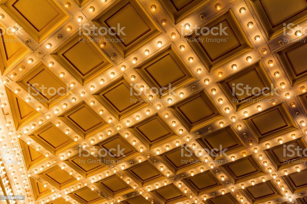 Theater Eingang Festzelt Deckenleuchten – Foto
