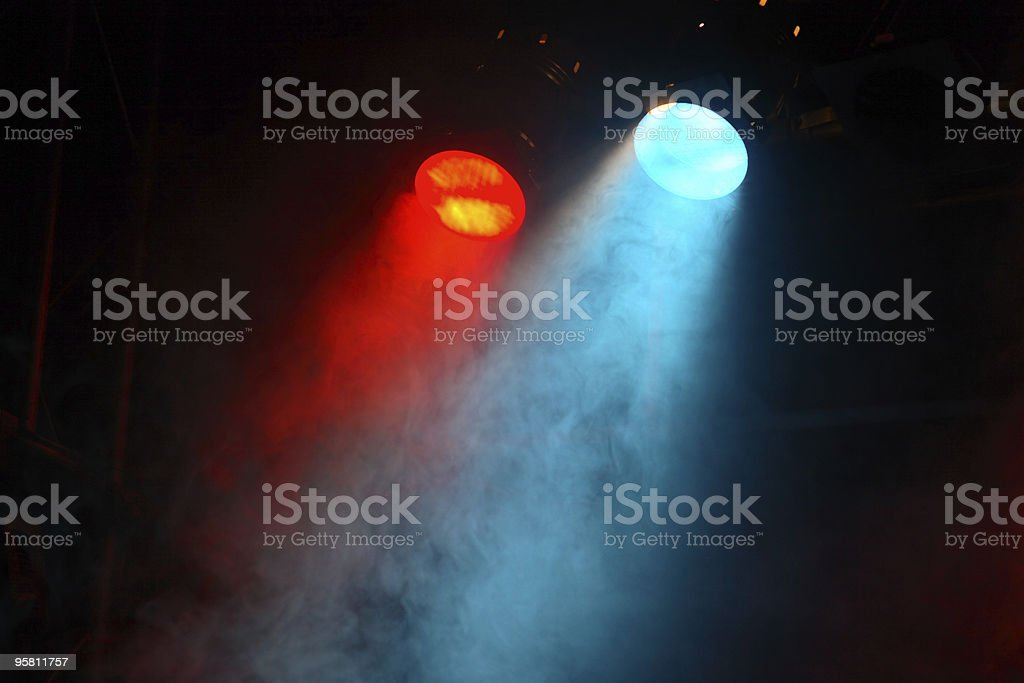 theater lights royalty-free stock photo