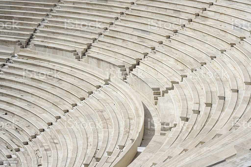 Theater of Herod Atticus stock photo
