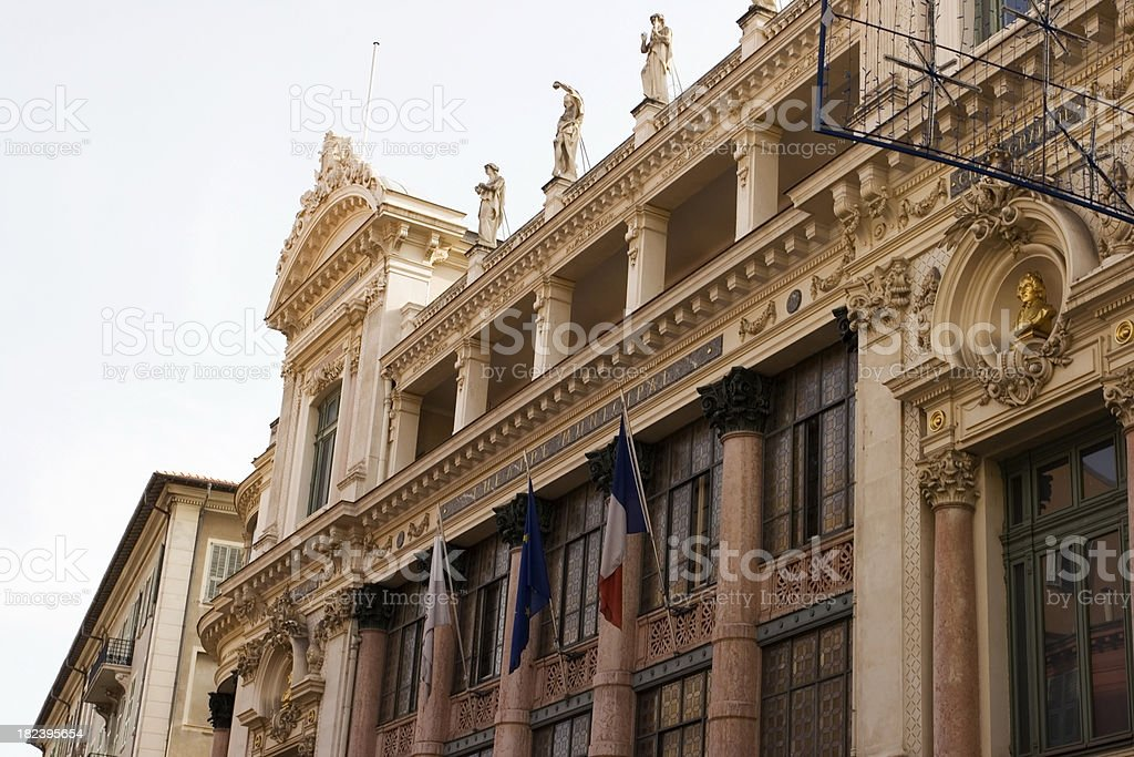 Theater of Nice, France royalty-free stock photo
