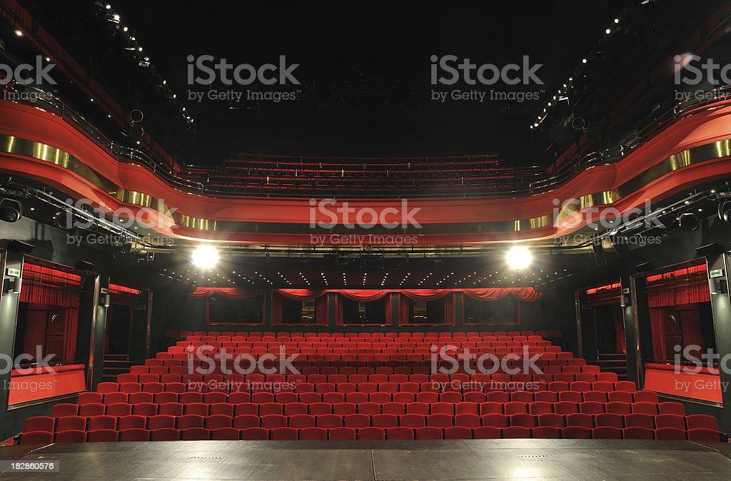 Tipo teatro licencias - foto de stock