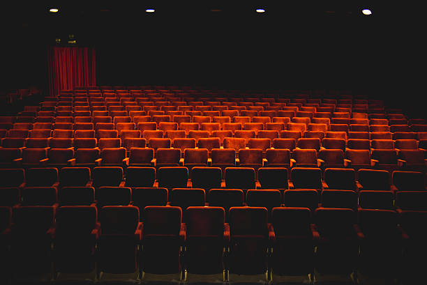 theater seats - seat stock photos and pictures
