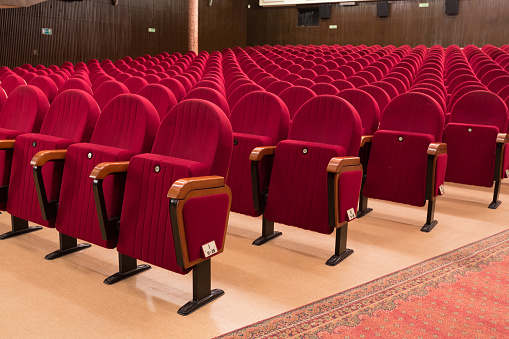 Theater Seats Stock Photo - Download Image Now