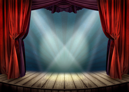 Theater stage concept